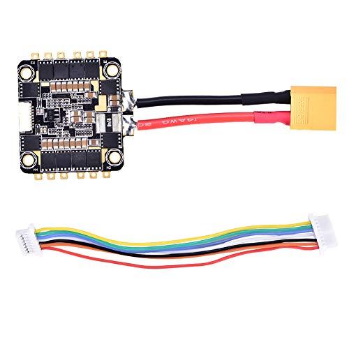 RC ESC, 4 in 1 ESC 2-6S Elektronische Geschwindigkeitsregelung DSHOT600 für RC Drone