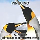 Calendario Pingüino Septiembre 2021 - Diciembre 2022: Cuadrado Libro de Fotos Planificador Mensual Calendario de regalo para los amantes del Pingüino ... y mujeres I Con los días festivos de EE.UU.