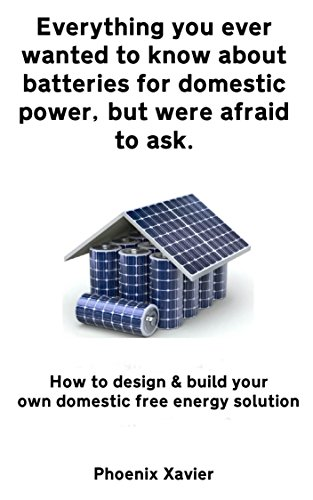 Everything you ever wanted to know about batteries for domestic power, but were afraid to ask: How to design & build your own domestic free energy solution (English Edition)