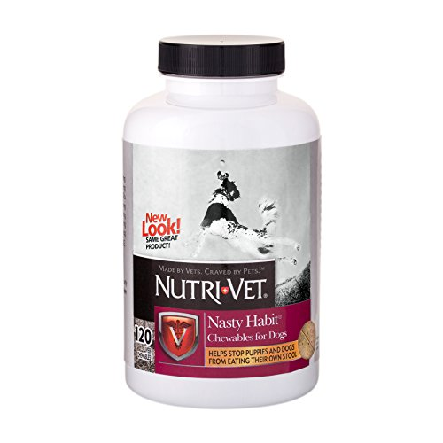 Nutri-Vet Nasty Habit Chewables for Dogs | Veterinarian Formulated | 120 Count