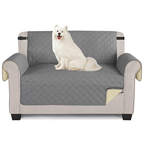 TAOCOCO Sofabezug, wasserdicht, Sofaüberwurf für Sofas und Sofas 2 posti 120 * 190cm grau