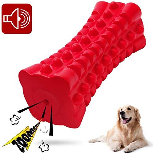 HIQE-FL Gummi Stock für Hunde,Hundespielzeug Wasserspielzeug,Zahnreinigungsspielzeug Hund,Hundespielzeug aus Kautschuk,Aggressive Kauer,Kauspielzeug Hund Zahnpflege