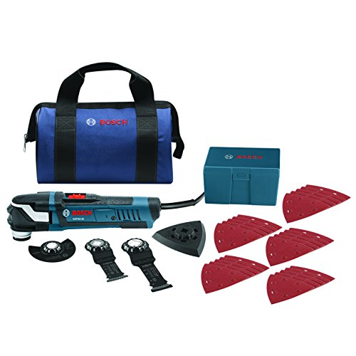 Bosch StarlockPlus Oscillating Multi-Tool Kit with Snap-In Blade Attachment GOP40-30B