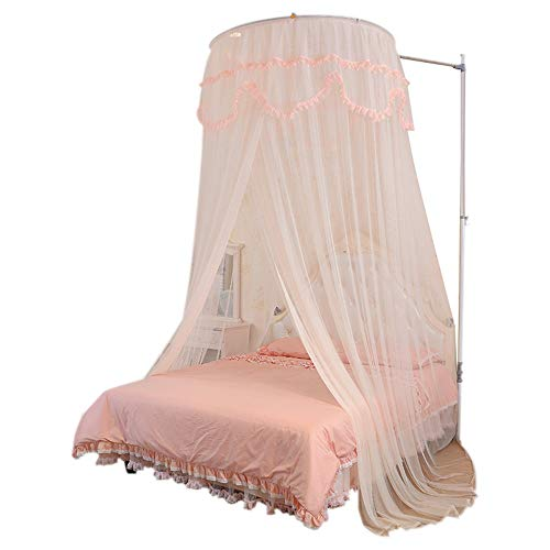 Learn More About Mosquito Net 2 M Double Bed Home Retractable Floor Stand Dome Ceiling Princess Styl...