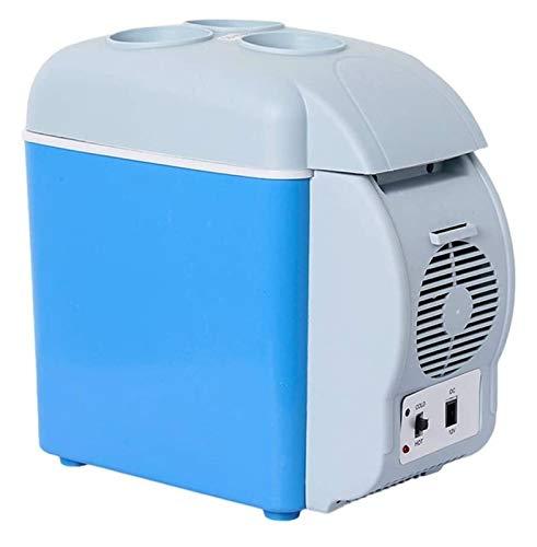 SHUHANG Cooler 7.5L-Portable refrigerador sin conexión de refrigerador eléctrico y más cálido con Voltaje de tecnología de enfriamiento para Oficina (Color : Blue, Size : 7.5L)