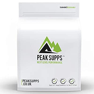 Inulin Powder 500g - Free Delivery - Pure Chicory Root | Prebiotic | Fibre | Digestive Aid | FOS from Peak Supps