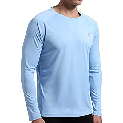 Xtansuo Men's UPF 50+ UV Shirt Long Sleeve ...