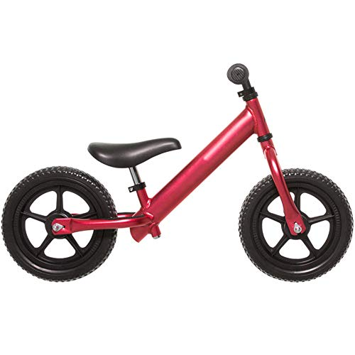 New LJHHH Children's Balance Bike,Toddler Walking Training Bicycle Height Adjustable,12 Inch Balance...
