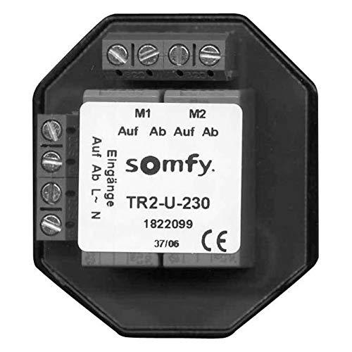 Somfy Trennrelais TR2-U-230 Up f. Zwei Antriebe Trennrelais Jalousie 3660849545444