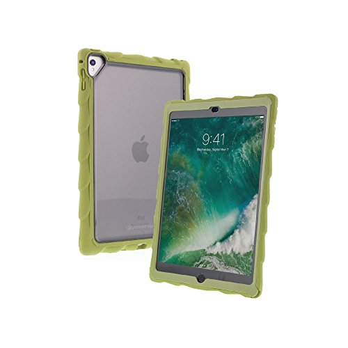 Gumdrop Cases DropTech Clear for Apple iPad Pro 9.7 (2016) A1673, A1674, A1675 and iPad Air 2 (Late 2014) A1566, A1567 Shock Absorbing Rugged Case, Army Green