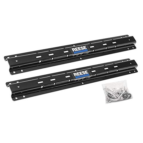 """Outboard Fifth Wheel Trailer Hitch Mounting Rails Only - 10-Bolt, 48"""" Width - Reese 30153"""