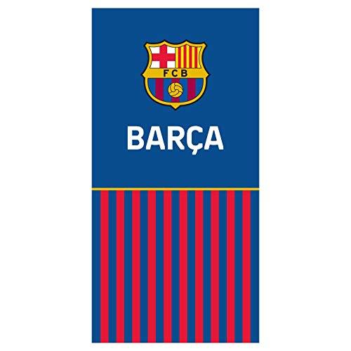 FCB FC Barcelona Strandtuch - Beach Towel - Serviette de Plage - Toalla de Playa - telo Mare FCB192019-R