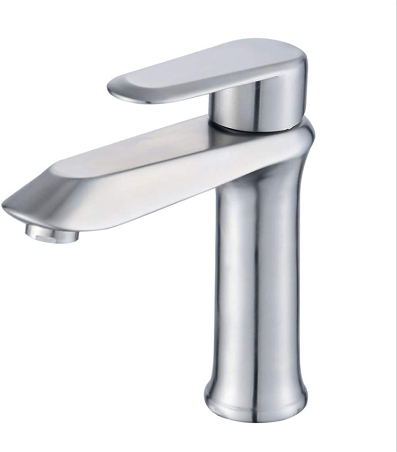Kitchen Taps Faucet Modern Kitchen Sink Taps Stainless Steel304 Stainless Steel Cold and Hot Water Faucet Bathroom Bathroom Bathroom Terrace Basin Wire Drawing Faucet