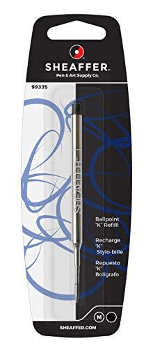 Sheaffer - Recambio para bolígrafo (tinta negra)