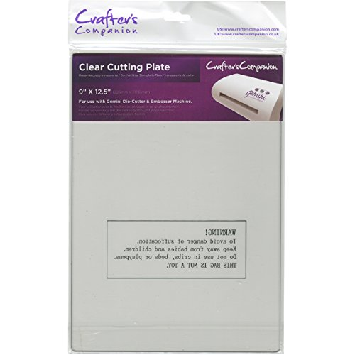 Gemini by Crafter's Companion Clear Cutting Plate