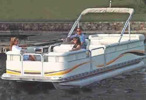 Review Carver 24' Pontoon Boat Cover with Fully Enclosed Deck & Bimini TopPoly Guard - 77524P