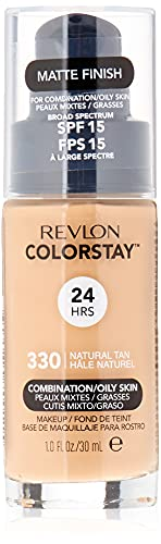 Revlon ColorStay Makeup for Combi/Oily Skin Natural Tan 330, 1er Pack (1 x 30 g)