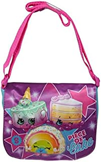Shopkins Crossbody Plush Bag Book Backpack