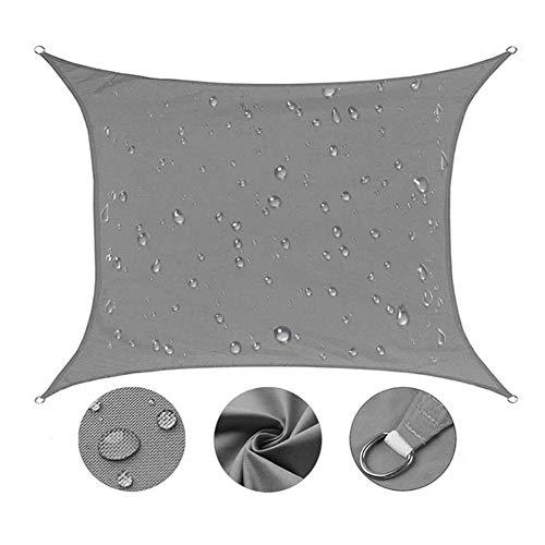 Ntribut Parasol para exteriores, patio, jardín, patio, jardín, impermeable, UV, para actividades al aire libre, \, 2X3m/gray