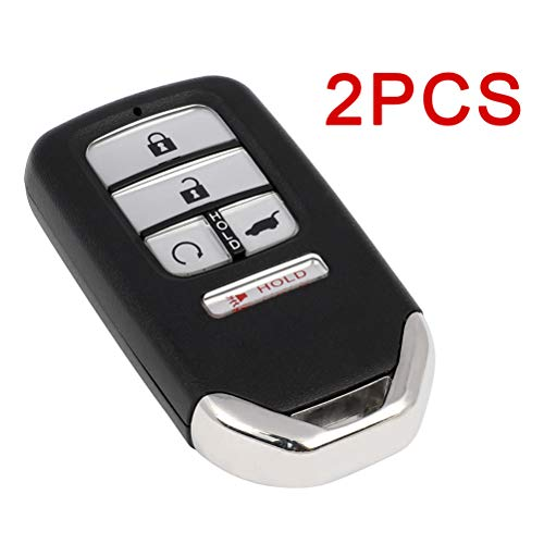 ECCPP Replacement 2 X Remote UNCUT ignition key fob 433 MHZ flip key 5 Buttons 47 chips for SUV 16 17 18 19 for Honda CR-V Pilot FCC KR5V2X V44 433. 92 7812D-V2X SUV START A2C98317400