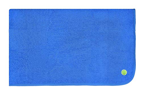 PeapodMats Waterproof Reusable & Breathable Bedwetting Incontinence Mattress Protector Pad -Cobalt 3x5