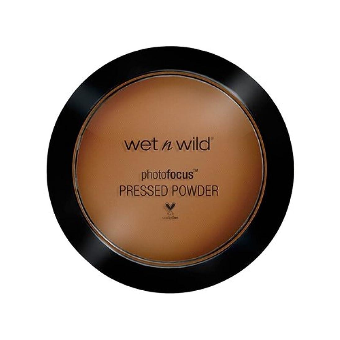 積分依存するストラップ(3 Pack) WET N WILD Photo Focus Pressed Powder - Dark Cafe (並行輸入品)