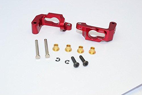 GPM HPI Bullet 3.0 Nitro & Bullet Flux Upgrade Pièces Aluminium C-Hub - 1Pr Set Red