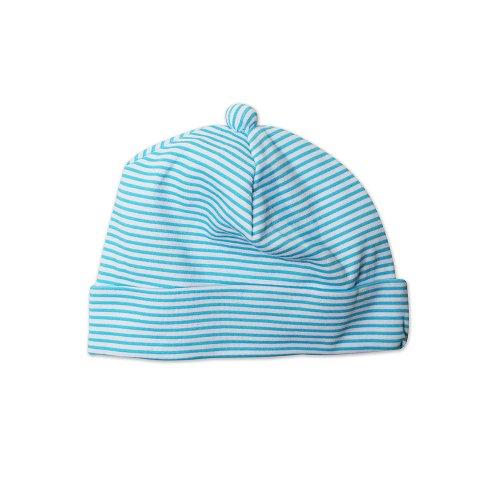 Zutano Unisex baby Hat Candy Stripe, Pool, 18...