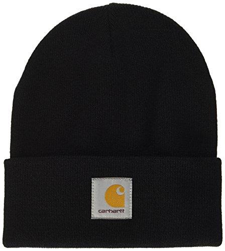 Carhartt Short Watch Hat Chapeau Fedora, Noir (Black), Unique (Taille Fabricant: Taglia Unica) Mixte