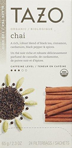 Tazo Organic Chai, 24 Tea Bags 2.3oz