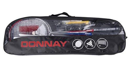 Donnay - 41400 - Kit De Badminton Avec Filet - 9 Pièces