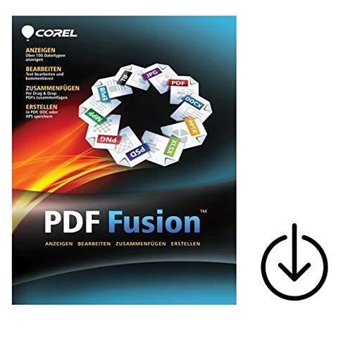 Corel PDF Fusion 1  1PC/WIN Vollversion unbegrenzte Laufzeit Aktivierungscode/Lizenzzertifikat per Post[Lizenz][KEINE CD][NO