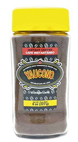 Yaucono Instant Coffee 8 Ounce Jar (1 Pack)