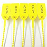250mm Pull-Tite Plastic Security Seals Shipping Tags Disposable Signage...
