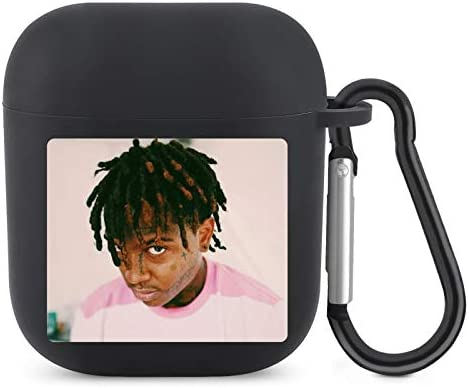 Ski Mask The Slump God Airpod Silicone Skin Cases Cover with Keychain Compatible with Airpods product image