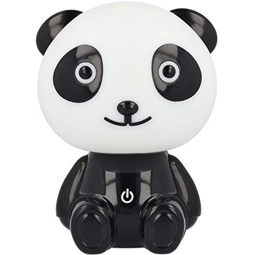 Westcott Lightbuddies Lampe Panda Pepe, LED-Nachtlicht für Kinder mit Akku & USB-Ladekabel, dimmbar, schwarz weiß, E-88001 00