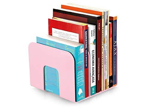 organizador de livros standard rosa pastel Blistado