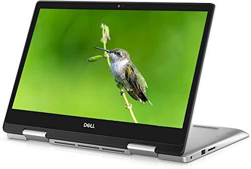 "Dell Inspiron 14 5000 2 in 1 Convertible Laptop, 14"" Full HD IPS Touchscreen, AMD Quad-Core Ryzen 7 3700U (>i7-7500U), 32GB DDR4 1TB SSD, Backlit KB FP Win 10 (Silver) + Delca 16GB Micro SD Card"