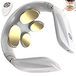 Noova Neck Massager with Heat Plus Two Massager Pads for Neck and Full Body Pain Relief, Cordless Neck Massager for Pain Relief, Neck Relax and Heated Neck Massage, Neck Massager for Women and Men