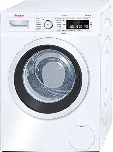 Bosch WAW28500 Serie 8 Waschmaschine Frontlader / A+++ / 152 kWh/Jahr / 1400 UpM / 9 kg / weiß / Fleckenautomatik / Trommelreinigung mit Erinnerungsfunktion