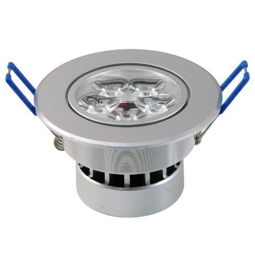 Lemonbest Dimmable 110V 5W LED Ceiling Light Downlight, Warm White Spotlight Lamp Recessed Lighting Fixture, Halogen Bulb Replacement (1pc)