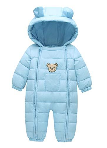 Product Image of the Happy Cherry Newborn Baby Boys' Winter Romper Thick Jacket Waterproof Bodysuit...