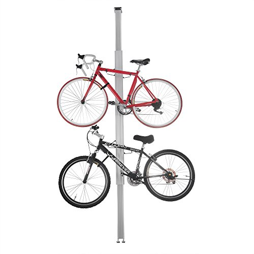 2024 RAD Cycle Aluminum Bike Stand Bicycle Rack Storage or Display Holds Two Bicycles