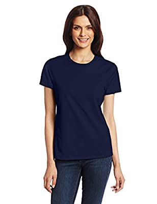 Hanes Women's Nano T-Shirt, Small, Navy