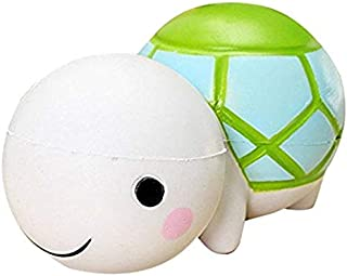 Bomandu 4 Pieces Fidget Toys Stress Relief Toys Fun Turtle Animal Keychain Squeezing Toys Keychains for Adults Kids