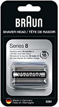 Braun Series 8 Electric Shaver Replacement Head - 83M - Compatible with Electric Razor 8370cc, 8340s, 8350s