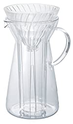 top 10 hario iced coffee Pour a Hario V60 glass into a 700 ml hot iced coffee machine