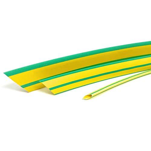 Tubo termoretractil 2:1 esquema de colores por cable de tierra (amarillo/verde) Selección...
