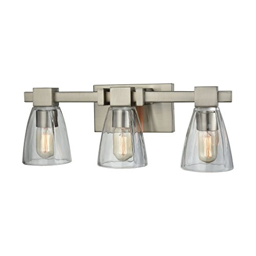 Elk Lighting 11982/3 Vanity-Lighting-fixtures Nickel