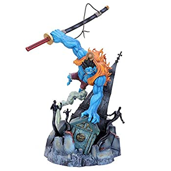 HEIMAOMAO 16.5Inch Oversized One Piece Nightmare Luffy Anime Figures Cartoon Game Character Model Statue Figure Toy Collectibles Decorations Gifts Favorite by Anime Fan and Otaku Kids Gift for Boy